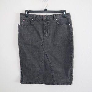 Tommy Hilfiger Vintage Denim Pencil Skirt Size 12
